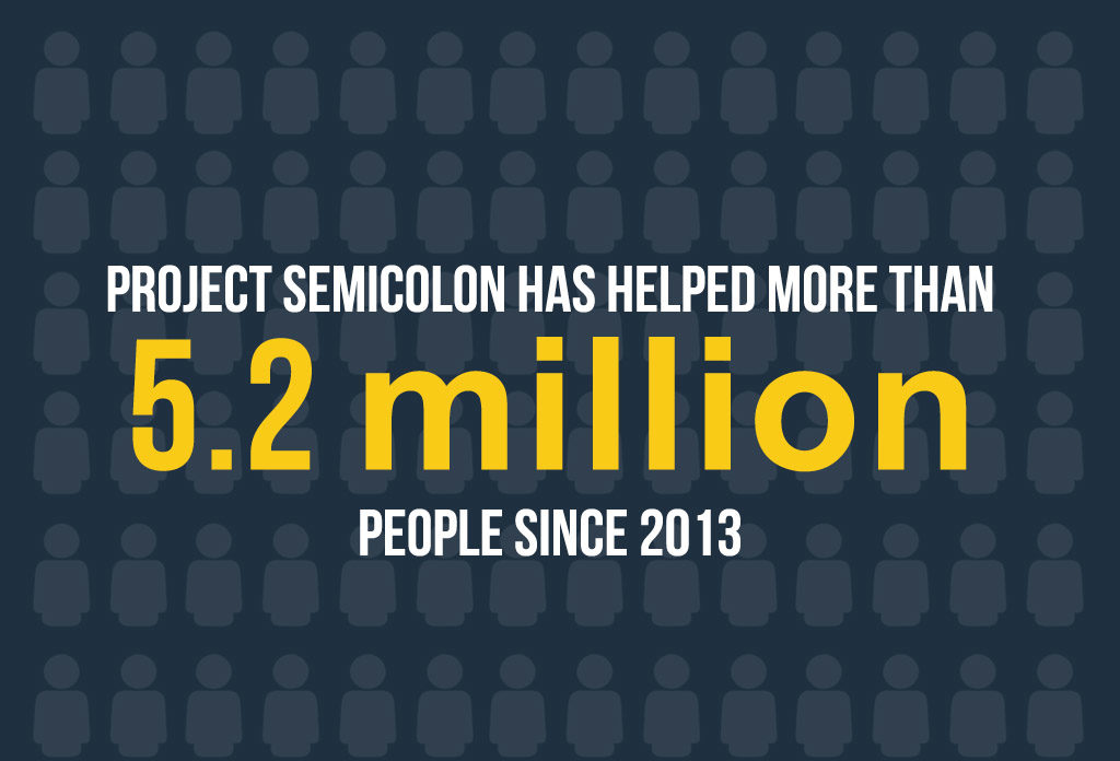 Project Semicolon - Suicide Prevention